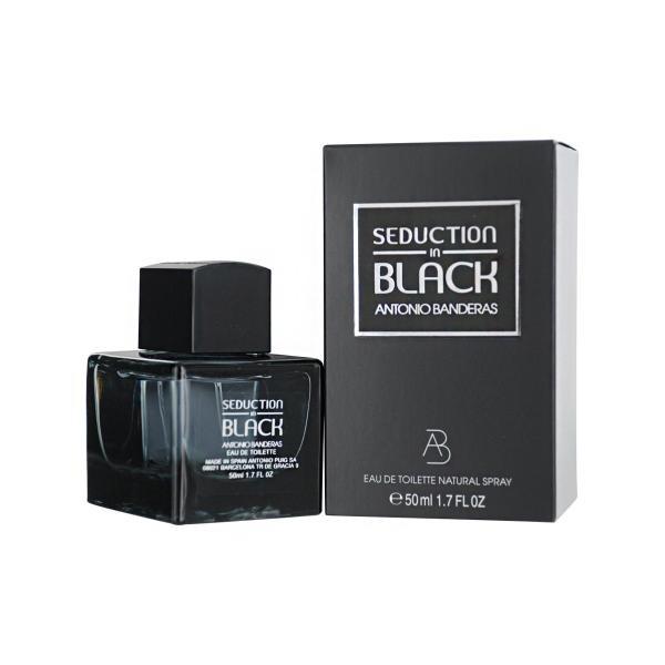 Antonio Banderas Seduction in Black Man Вода туалетная 50 мл