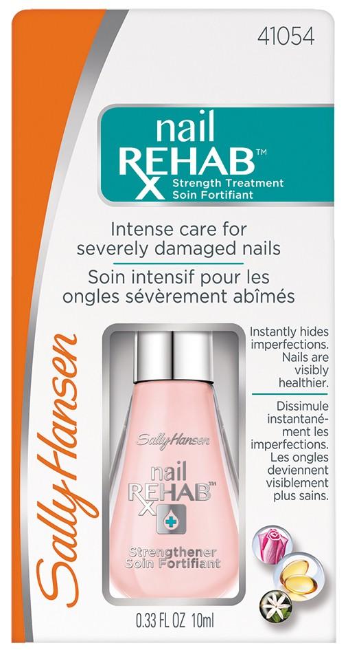 Sally Hansen Nailcare Nail rehab strengthener средство для восстановленияя очень поврежденных ногтей 10 мл