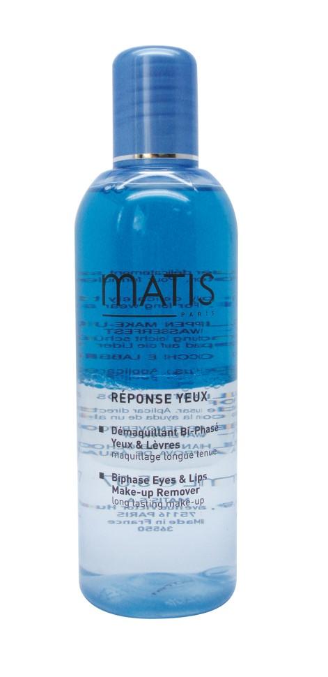 Matis Линия Для глаз Двухфазный лосьон для снятия водостойкого макияжа с глаз и губ 150 мл