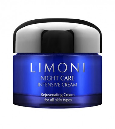 Limoni Night care intensive cream Крем для лица ночной восстанавливающая 50 мл — Makeup market
