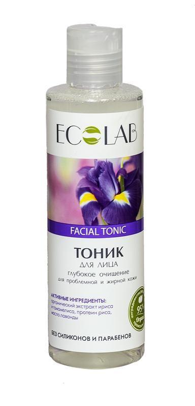 Ecolab Тоник для лица Глубокое очищение для проблемной и жирной кожи