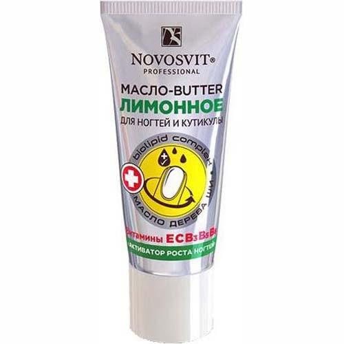 NOVOSVIT Крем-Масло BUTTER активатор роста для ногтей и кутикулы