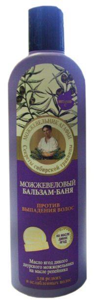 Рецепты Б.Агафьи Бальзам для волос против выпадения можжевеловый 280 мл.