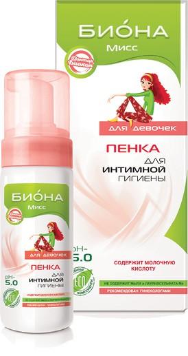 БИОКОН Lacta Care ИНТИМ Пенка для интимной гигиены для девочек PH 5, 150мл (Биокон)