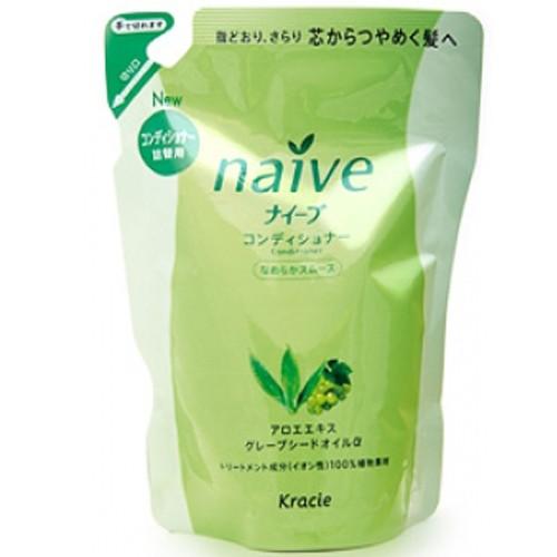 KANEBO NAIVE Кондиционер ЗАПАСКА для нормальных волос алоэ+виноград, 400мл (Kanebo)