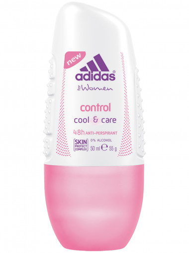 Adidas Anti-perspirant Roll-Ons Female Роликовый антиперспирант 50 мл control — Makeup market