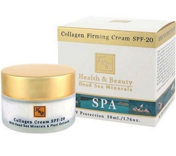 Health Beauty Крем для лица укрепляющий коллагеновый SPF20