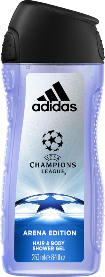 Adidas Arena Гель для душа для тела и волос для мужчин 250 мл
