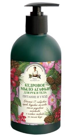 Рецепты Б.Агафьи Мыло жидкое для рук и тела кедровое