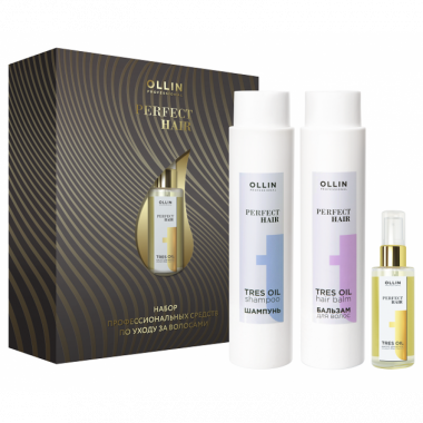 Ollin Perfect Hair Tres Oil Набор 400 мл 400 мл 50 мл — Makeup market