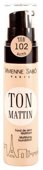 Vivienne Sabo матирующий тональный крем Ton mattin (№102 натуральный)