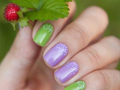 Сочетания лаков на ногтях