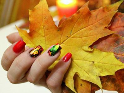 Осенний маникюр 2016 модные тенденции